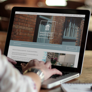 Apartment website and logo