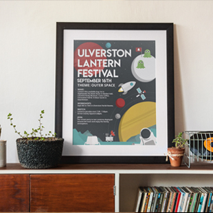 Festival logo, poster and website